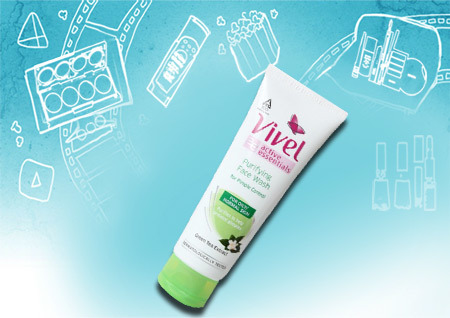 active essentials purifying face wash