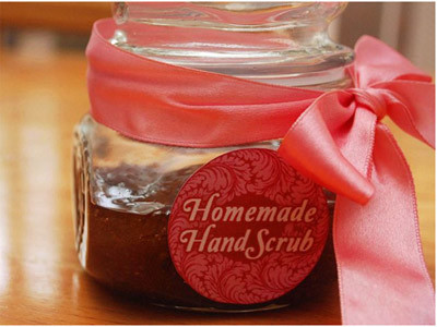almond and honey scrub