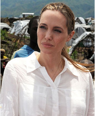 angelina jolie without makeup