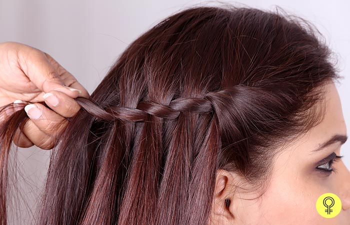Repeat The Previous Step - Waterfall Braid