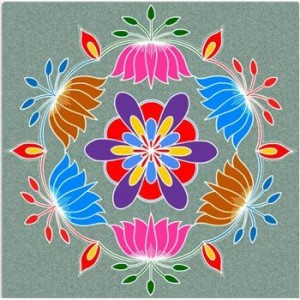 10 Best Pongal Rangoli Designs To Try In 2018
