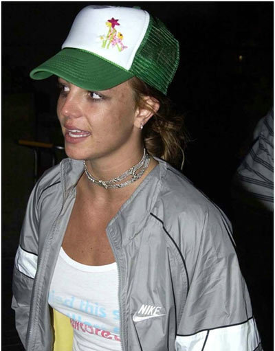 britney spears sans makeup