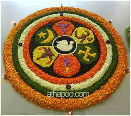 colourful rangoli designs images