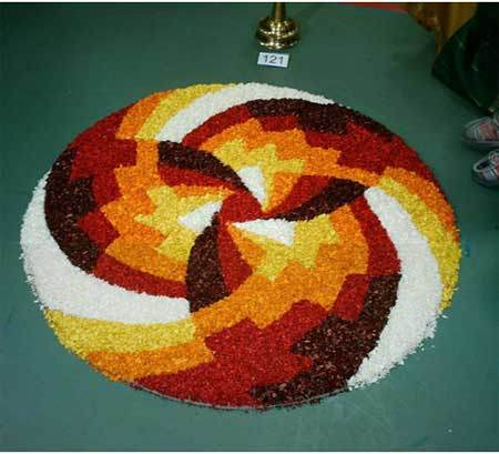 different rangoli designs