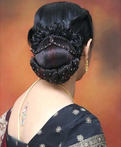 elegant back bun