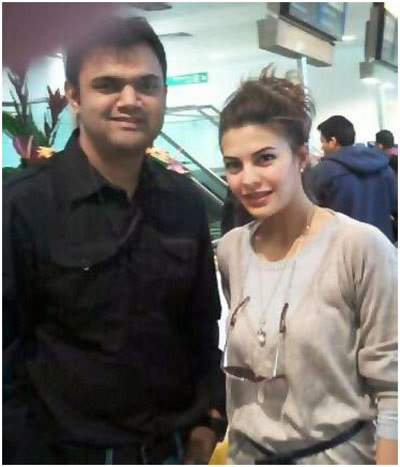 Jacqueline Fernandez Interaction with Fans in London