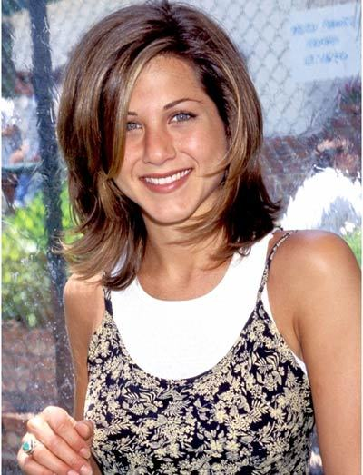 Jennifer Aniston With Stylish And Smiley Face