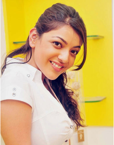 kajal without makeup image
