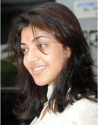 kajal without makeup