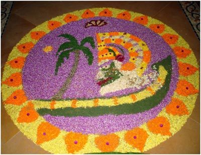kathakali rangoli designs