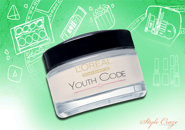 l oreal youth code eye cream