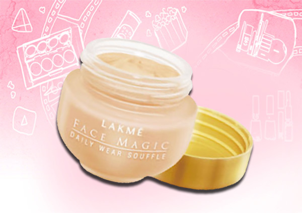 lakme face magic daily wear souffle