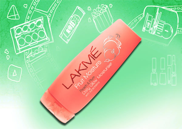 lakme fruit moisture peach and plum