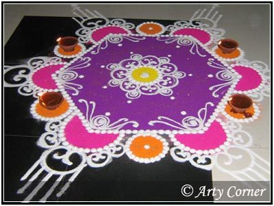 30 Simple And Easy Rangoli Designs To Try In 2018