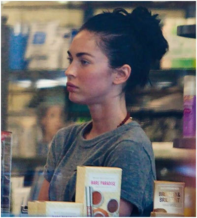 Megan Fox Wake Up And Makeup Look