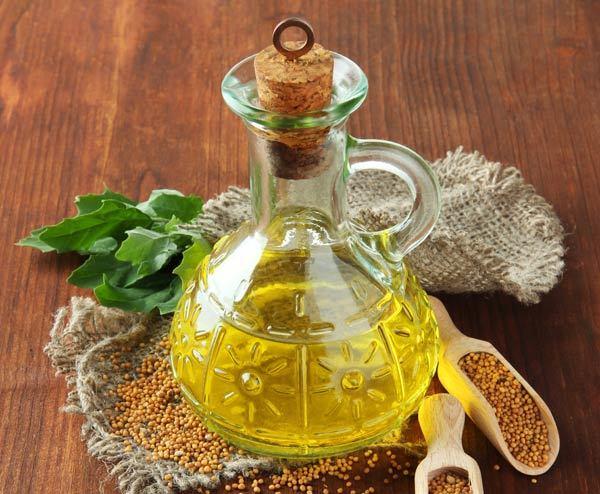 mustard oil henna