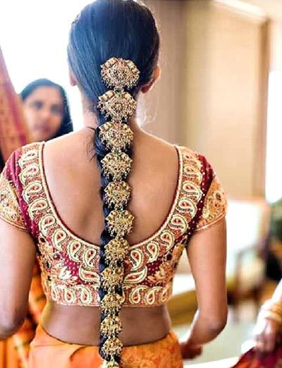 Hair Style Jooda : 10 Beautiful South Indian Hairstyles For Girls