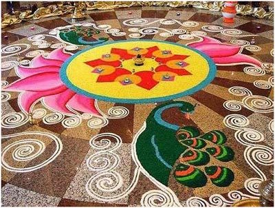27 Simple And Easy Rangoli Designs To Try In 2019