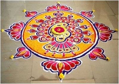 rangoli designs for diwali simple designs