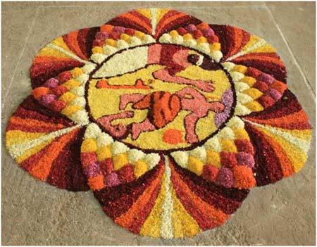 rangoli mythology