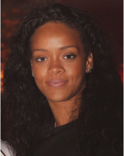 rihanna natural beauty