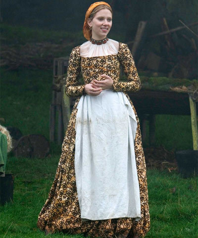 scarlett johansson floral dress