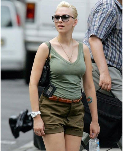 Top 10 Scarlett Johansson Without Makeup Pics (#6 is