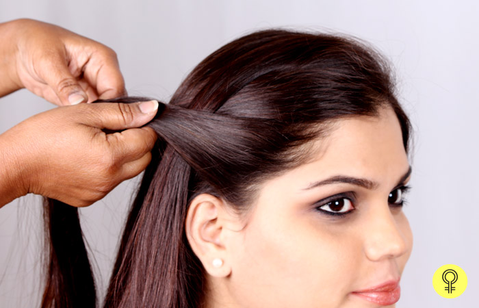 Side Partition - Waterfall Braid
