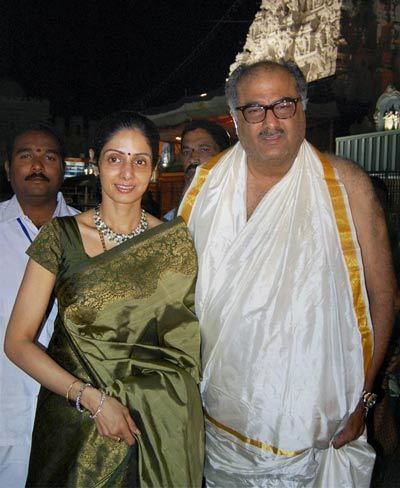 sridevi with her husband