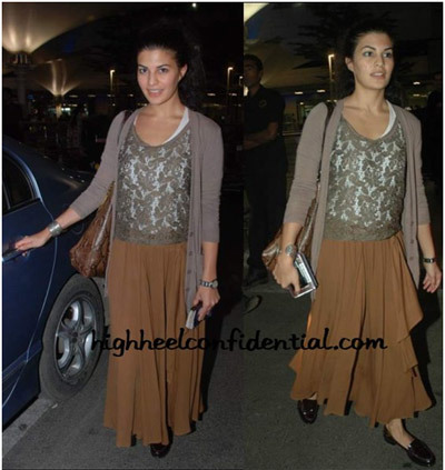 Travelogue - Jacqueline Fernandez No Makeup Look