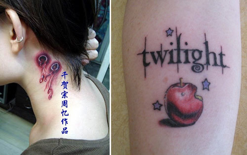 White Power Tattoos Women Vampire tattoos have gained