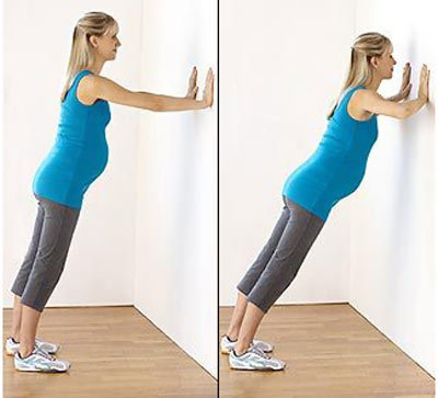 wall push up exercises