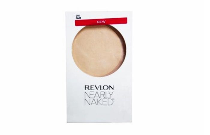 Revlon Nearly Naked Pressed Powder - Best Compact in India