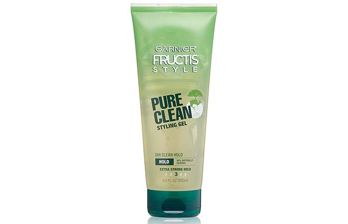 1. Garnier Fructis Style Pure Clean Styling Gel