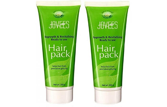 1. Jovees Regrowth And Revitalizing Ready To Use Hair Pack