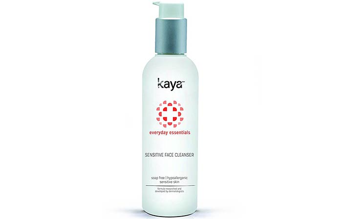 1. Kaya Everyday Essentials Sensitive Face Cleanser