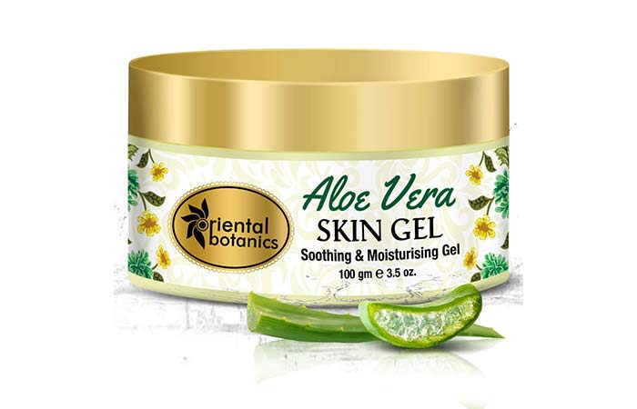 1. Oriental Botanics Aloe Vera Skin Gel