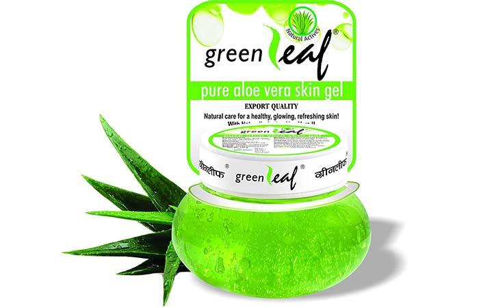 Brihan's Green Leaf Pure Aloe Vera Skin Gel - Aloe Vera Products