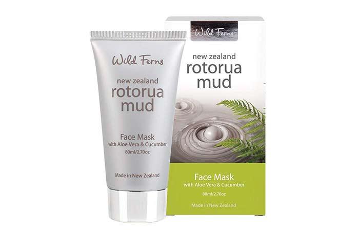 Wild Ferns Rotorua Mud Face Mask - Aloe Vera Products