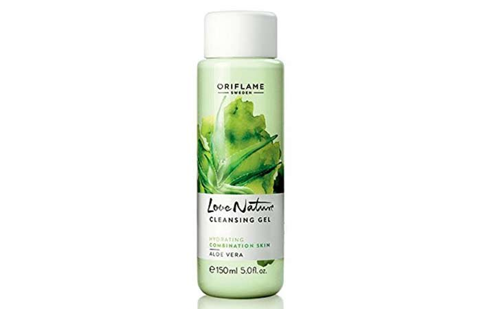 Oriflame Love Nature Cleansing Gel - Aloe Vera Products