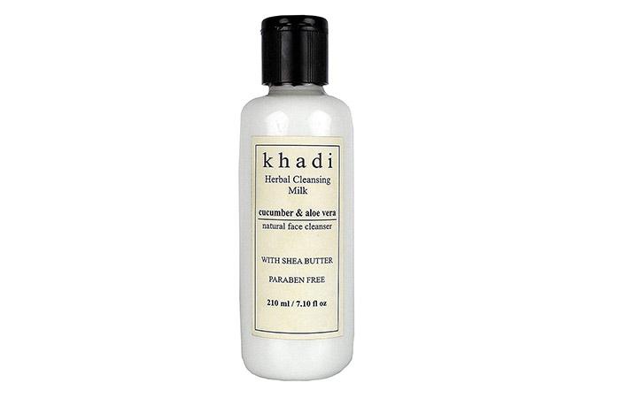 Khadi Cucumber And Aloe Vera Cleansing Milk - Aloe Vera Products
