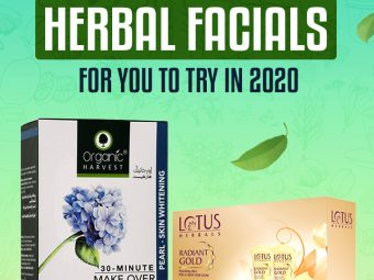10 Best Herbal Facials For You To Try In 2020