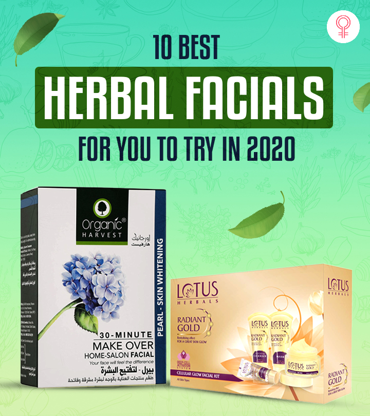 10 Best Herbal Facials For You To Try In 2021