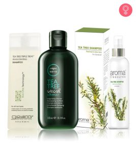 10 Best Tea Tree Oil Shampoos Available In India