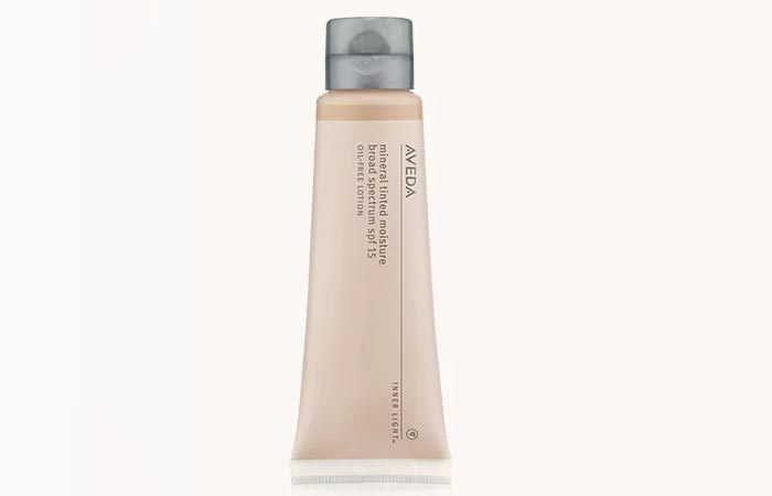 10. Aveda Inner Light Mineral Tinted Moisture Broad Spectrum SPF 15