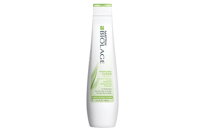 10. Matrix Biolage Normalizing Clean Reset Shampoo