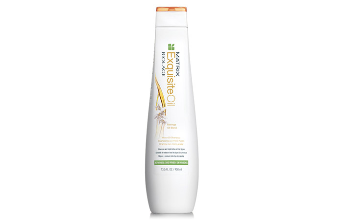 11. Matrix Biolage Exquisite Oil Micro Oil Shampoo