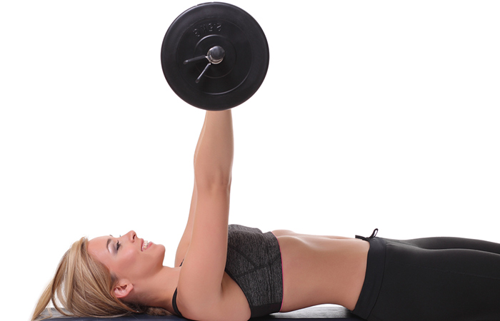 Triceps Exercises - Close Grip Bench Press