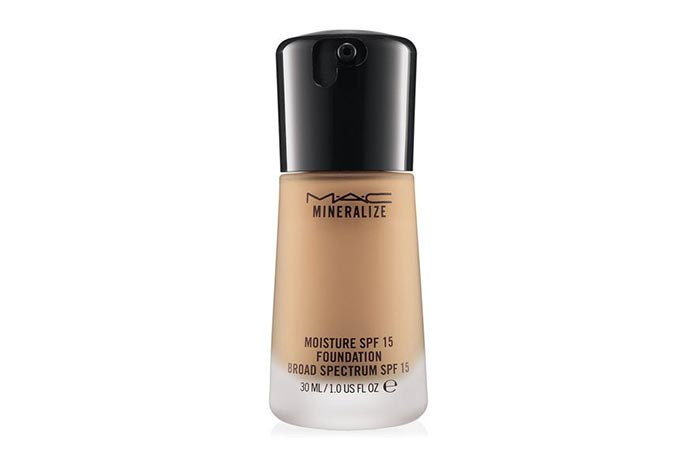 MAC Cosmetics Mineralize Moisture Foundation - Mineral Foundations