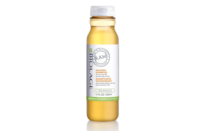 12. Matrix Biolage R.A.W Nourish Shampoo